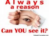 Always a reason